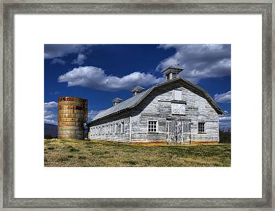 Barns Are Beautiful Framed Print