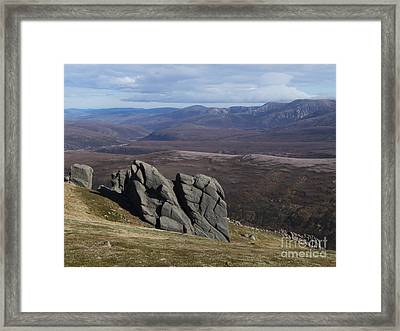 Barns Of Bynack - Cairngorm Mountains Framed Print by Phil Banks