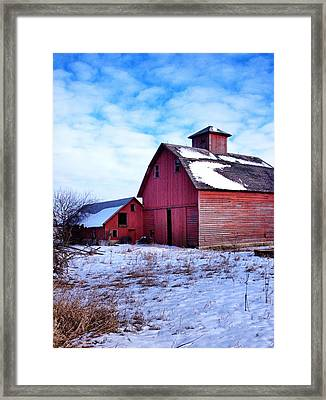 Barnstorm Framed Print by Tom Druin