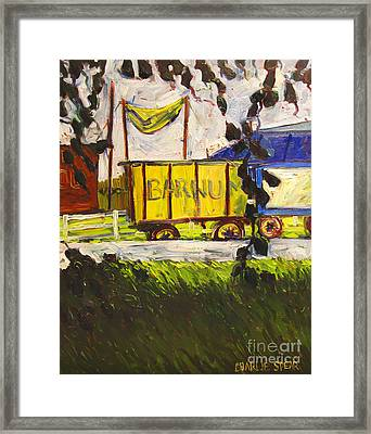 Barnum And Bailey Framed Print