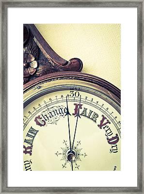 Barometer Framed Print