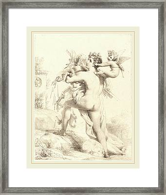 Baron Pierre-narcisse Guerin French, 1774-1833 Framed Print by Litz Collection