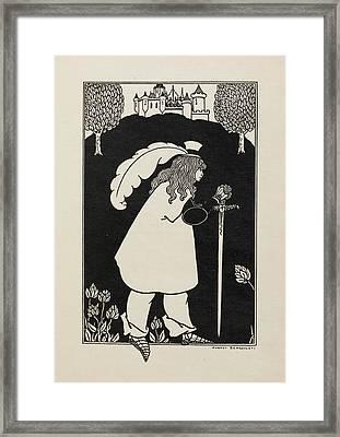 Baron Verdigris Framed Print
