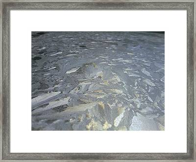 Baroque Ice Framed Print by Jaime Neo