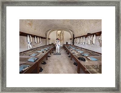 Framed Print featuring the photograph Barracks At Fort San Cristobal by Bryan Mullennix