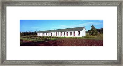 Barracks Of Military Workers, Sister Framed Print by Panoramic Images