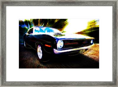 Barracuda Bliss Framed Print by Phil 'motography' Clark