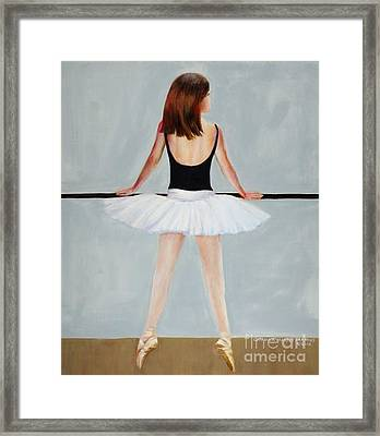 Framed Print featuring the painting Barre by Cynthia Parsons