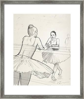 Barre. Framed Print by H James Hoff