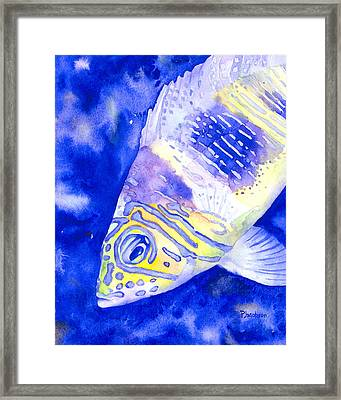 Barred Hamlet Portrait Framed Print