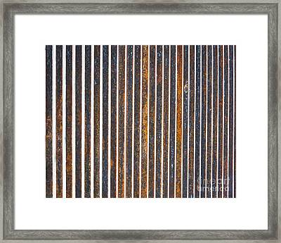 Framed Print featuring the photograph Barred by Kristen Fox