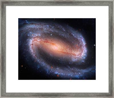 Barred Spiral Galaxy Ngc 1300 Framed Print by Don Hammond