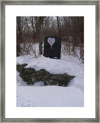 Barrel Of Heart Framed Print