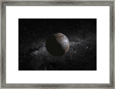 Barren Earth Framed Print