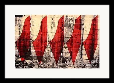 Social Conflict Framed Prints
