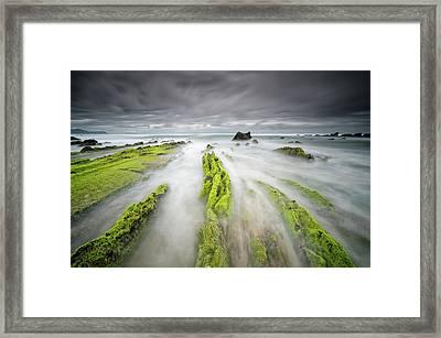 Barrika Framed Print