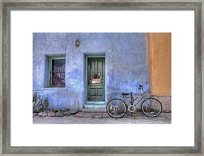 Barrio Bicycle Framed Print