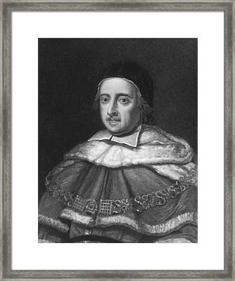 Barrister Mathew Hale Framed Print by Underwood Archives