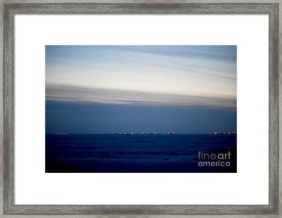 Barrow At Noon Framed Print