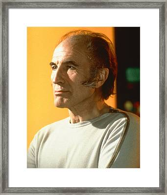 Barry Morse In Space: 1999  Framed Print by Silver Screen