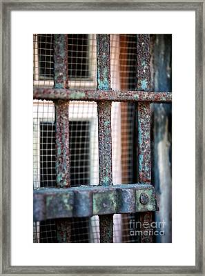 Bars Framed Print by John Rizzuto