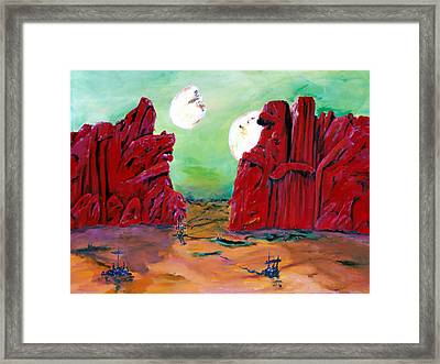 Barsoom Framed Print
