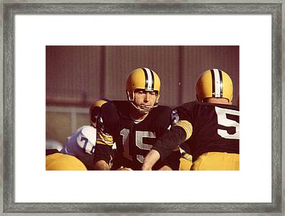 Bart Starr Framed Print by Retro Images Archive