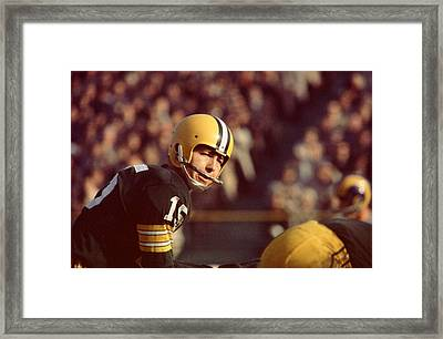 Bart Starr Under Center Framed Print by Retro Images Archive