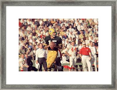 Bart Starr Vs. Chiefs Framed Print by Retro Images Archive