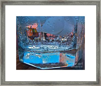 Bartender Blues Framed Print by Pamela Clements