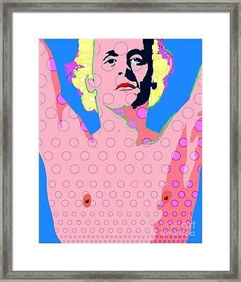 Baryshnikov Framed Print by Ricky Sencion