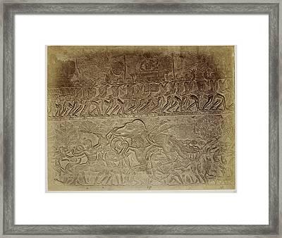 Bas-relief Framed Print