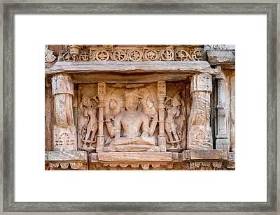 Bas Relief Chittaurgarh Citadel 6th Framed Print by Tom Norring