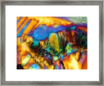 Basalt 0.16mm 1 141 Framed Print by Tom Phillips
