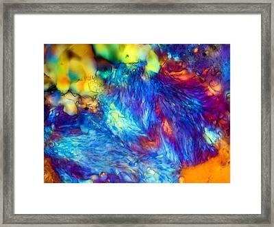 Basalt 0.16mm Framed Print by Tom Phillips