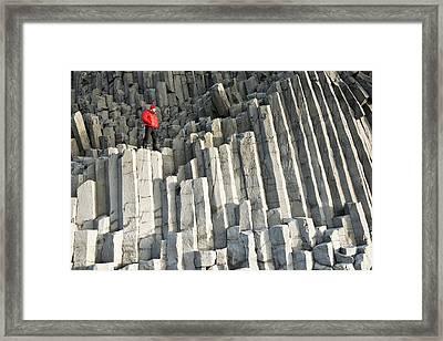 Basalt Columns Framed Print