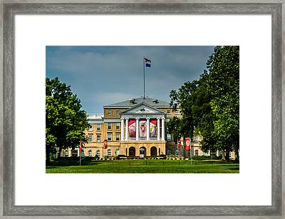 Bascom Hall Framed Print by Randy Scherkenbach