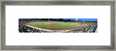 Baseball America's Past Time Framed Print by Thomas Woolworth