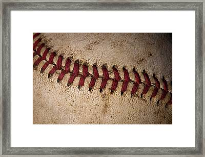 Baseball - America's Pastime Framed Print by David Patterson