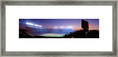 Baseball, Cubs, Chicago, Illinois, Usa Framed Print