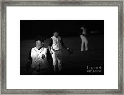 Baseball Days Framed Print by Karol Livote