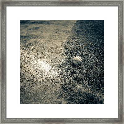 Baseball Field 1 Framed Print by YoPedro