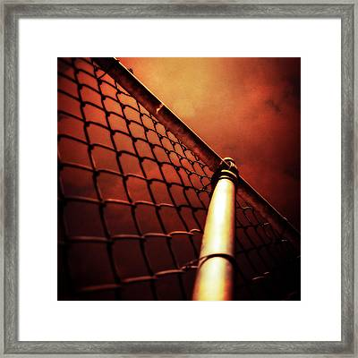 Baseball Field 11 Framed Print by YoPedro