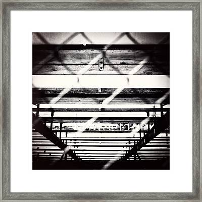 Baseball Field 12 Framed Print by YoPedro