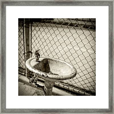 Baseball Field 13 Framed Print by YoPedro