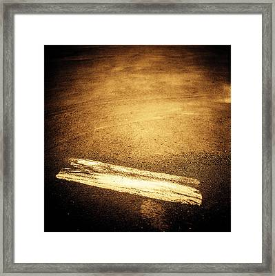 Baseball Field 17 Framed Print by YoPedro