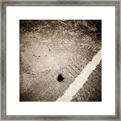 Baseball Field 20 Framed Print by YoPedro