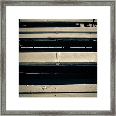 Baseball Field 5 Framed Print by Yo Pedro
