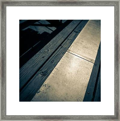 Baseball Field 6 Framed Print by Yo Pedro
