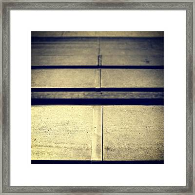 Baseball Field 7 Framed Print by YoPedro